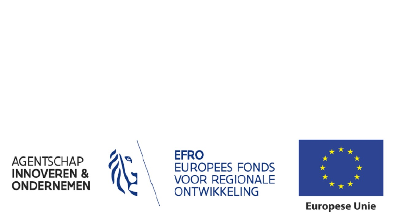 EFRO en Hermes funding logo's