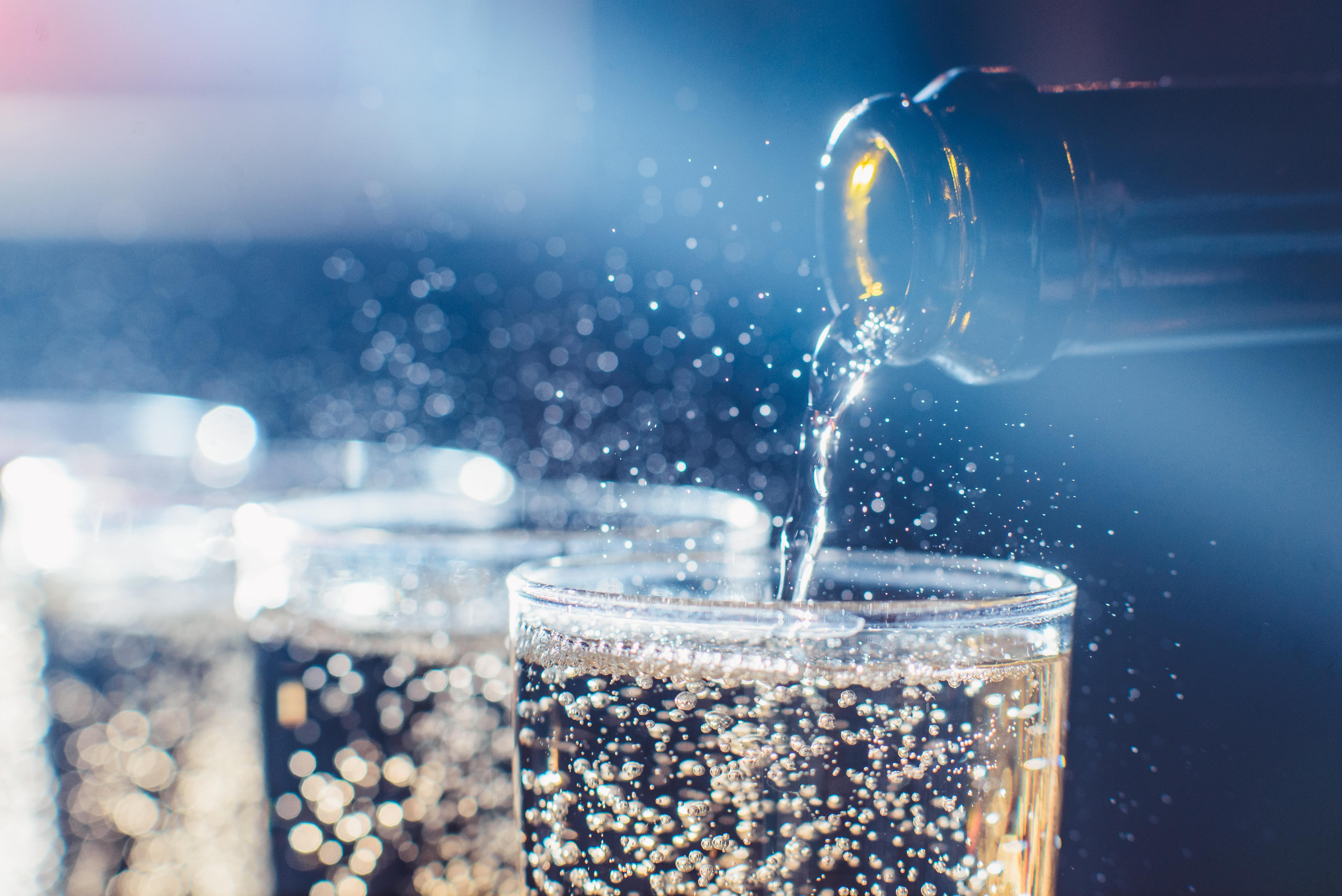 glazen met drank