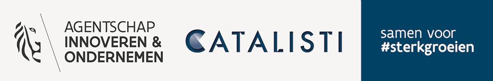 combined brand VLAIO - Catalisti