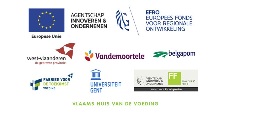Belgian Fries Pilot partner logo's