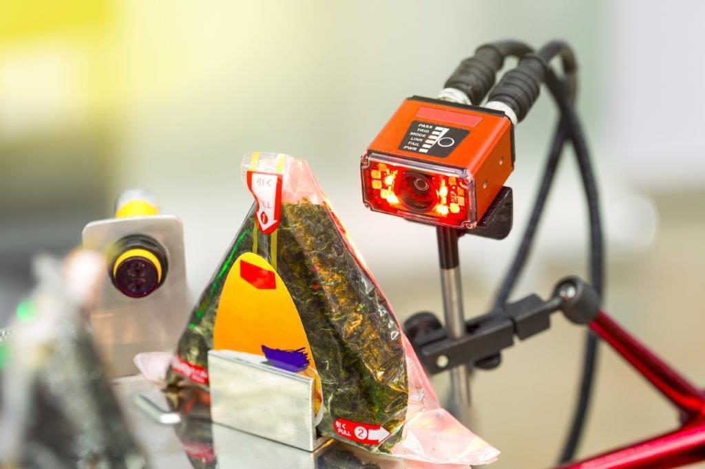 Sensor checkt sushi