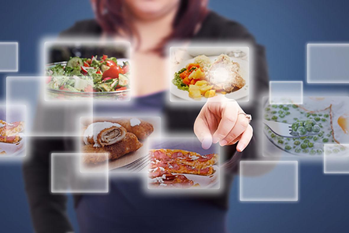 Digitaal menu