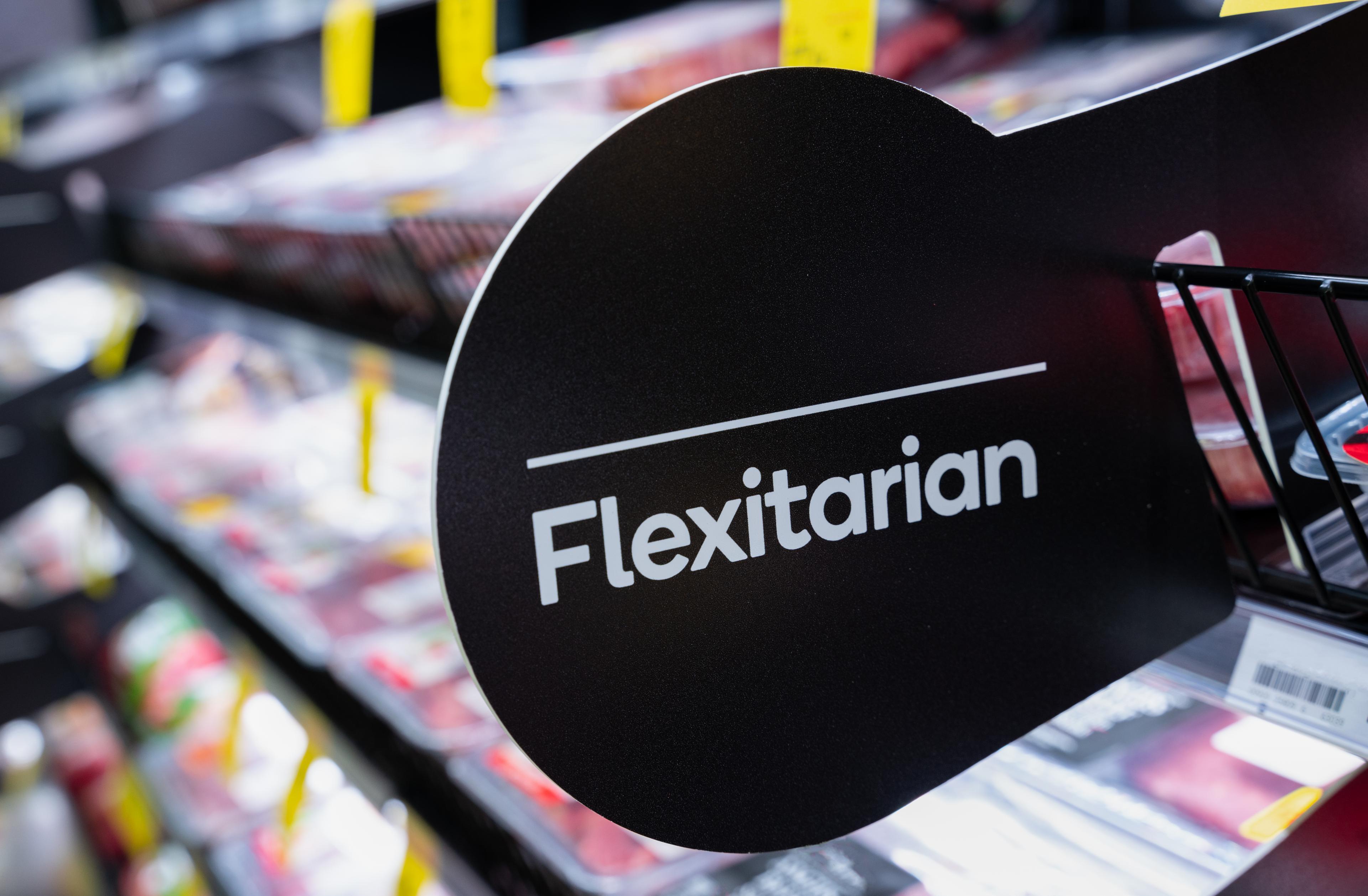 Naambordje 'Flexitarian'