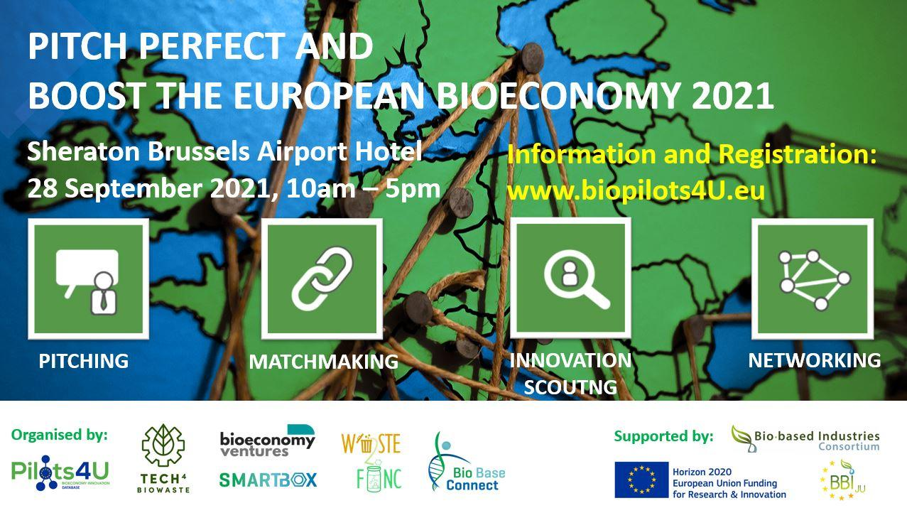 Pitch Perfect and Boost the European Bioeconomy 2021 visual