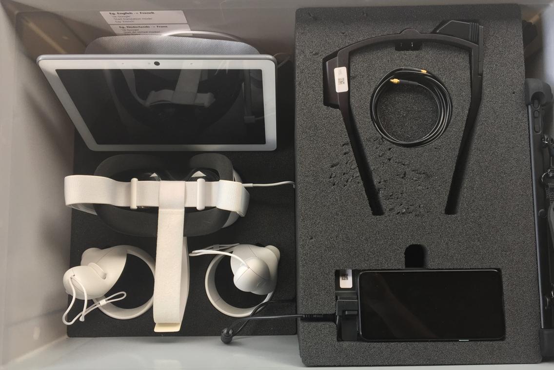 mobiele demo kit