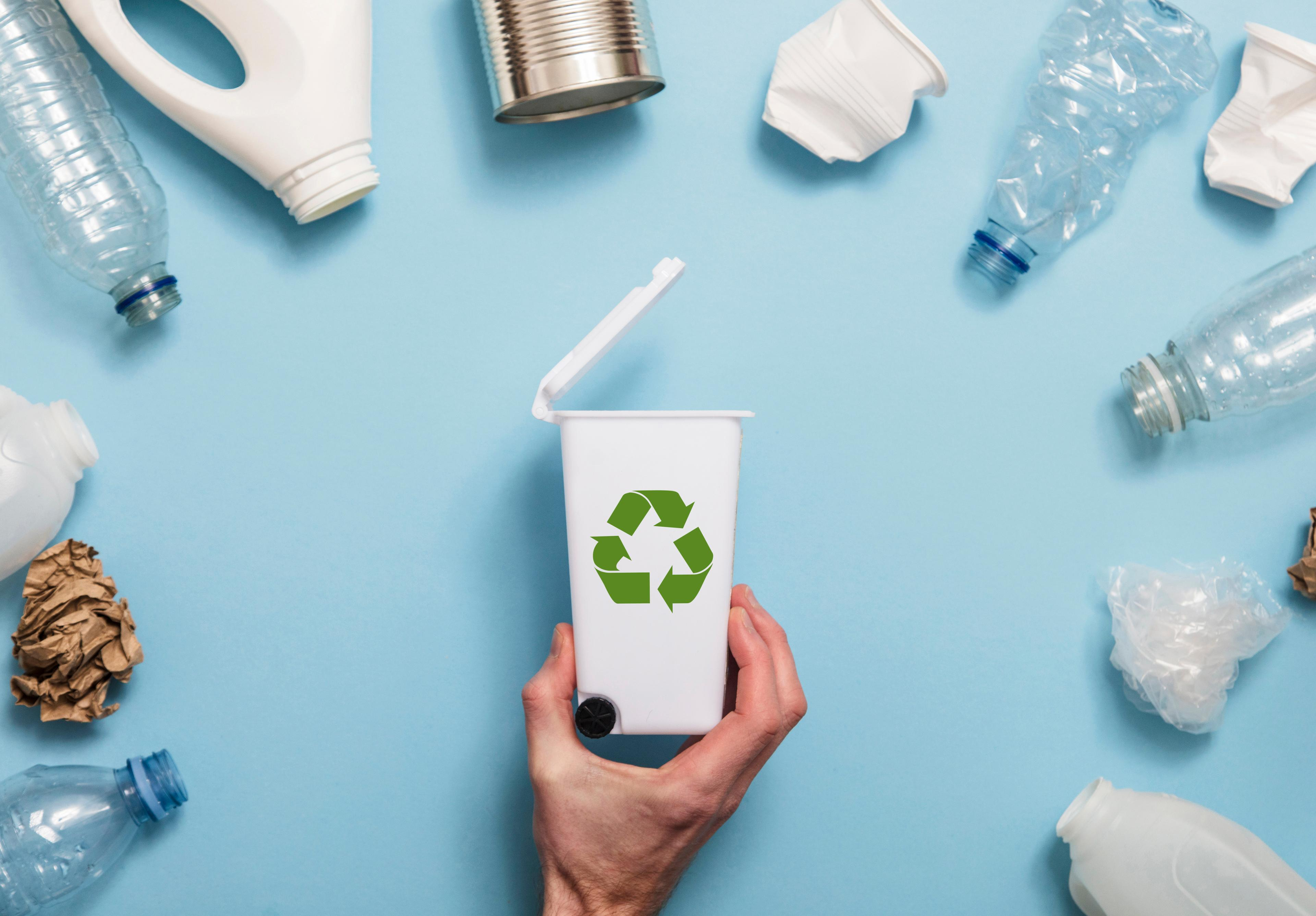 Recyclage van verpakkingen
