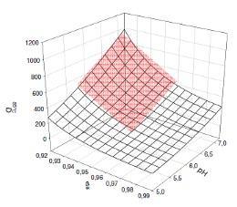 30.11.2009 Model voor pH en aw effecten
