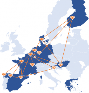CONNSENSYS EU map living lab network