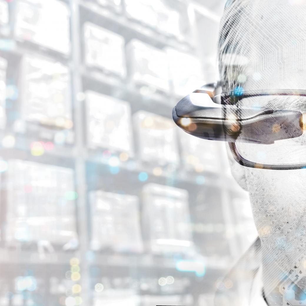 Opslag Magazijn Smartglass