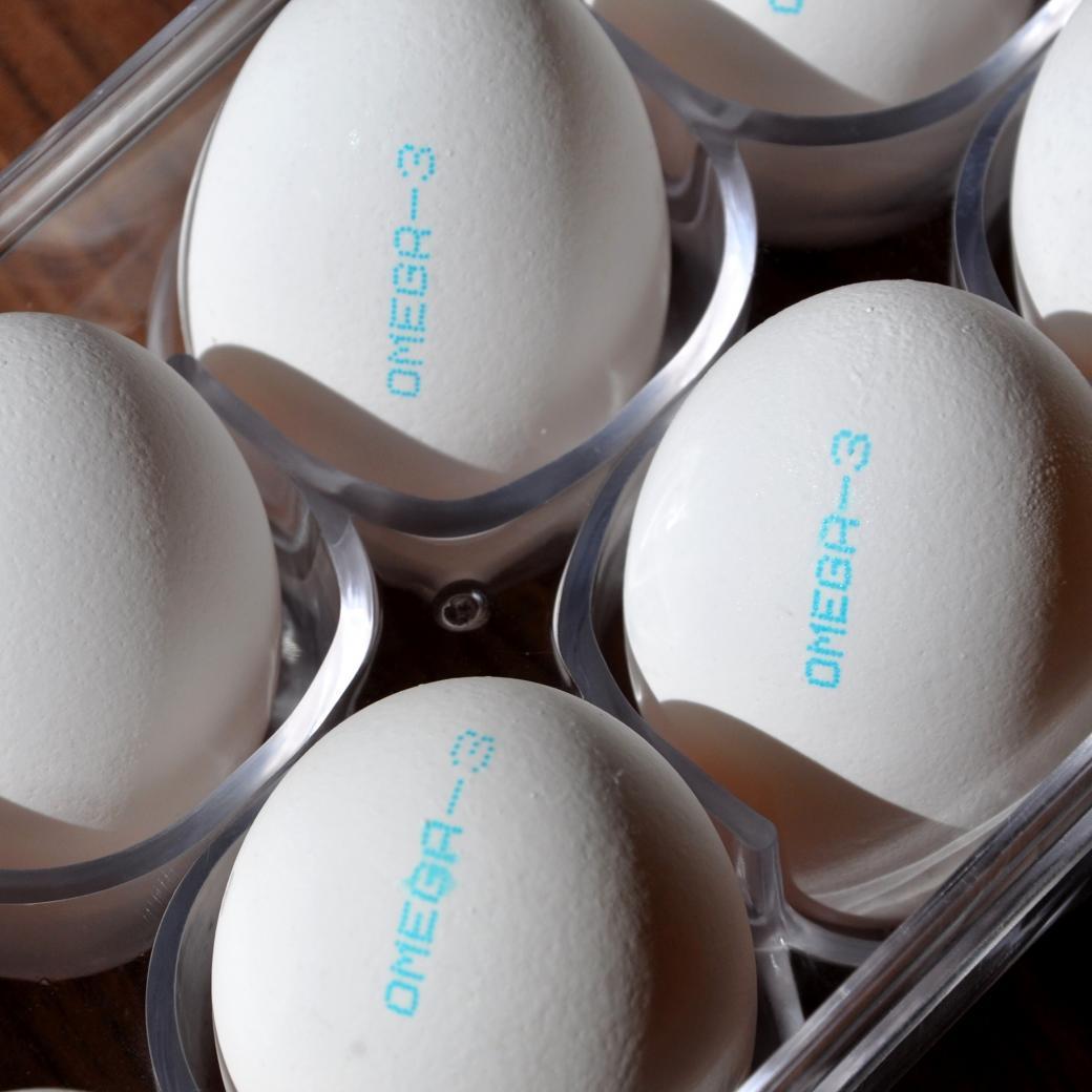 Omega-3 eieren