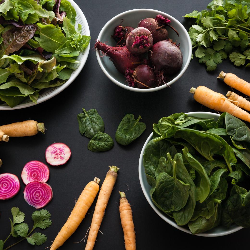 Blad- en wortelgroenten